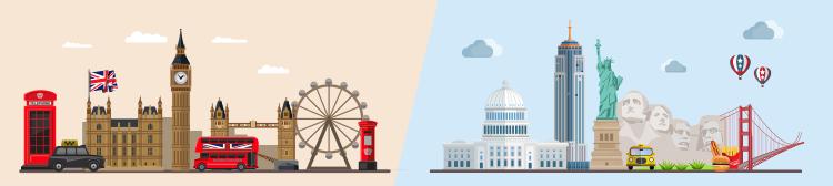 Чем отличается британский вариант от американского?